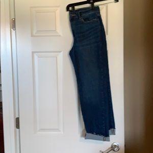 Banana Republic cropped jeans